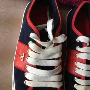 Tory Burch Shoes - 🆕 AUTHENTIC TORY BURCH CHURCHILL SUEDE SNEAKERS